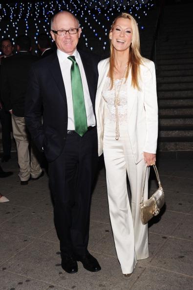 Вуди Джонсон (Woody Johnson) и Сюзанна Ирча (Suzanne Ircha) на вечеринке Vanity Fair в честь открытия кинофестиваля Tribeca-2012. Фоторепортаж. Фото: Jamie McCarthy / Getty Image