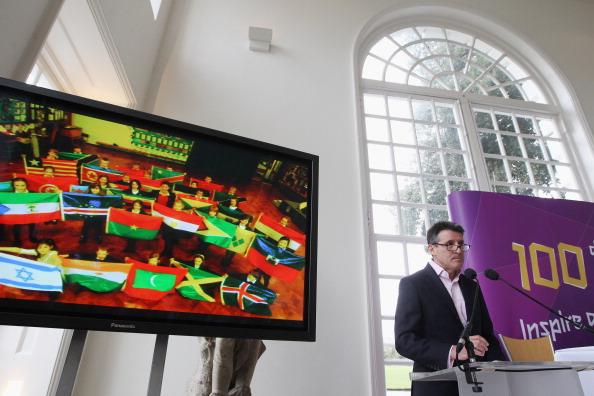 100 дней  до Олимпиады  «Лондон-2012» отметили в Kew Gardens. Фоторепортаж. Фото:  Peter Macdiarmid,  Oli Scarff/Getty Images