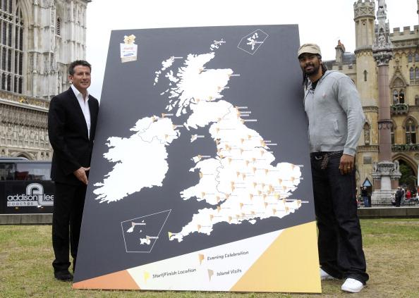 Фоторепортаж. Лондон-2012. 8000 факелоносцев будут участвовать в  Эстафете Олимпийского огня в Великобритании. Фото: Matthew Lloyd/Alan Crowhurst/Stu Forster/Getty Images for LOCOG