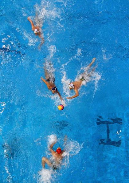 Фоторепортаж с чемпионата по водному поло в Австралии. Фото: Ryan Pierse/Getty Images