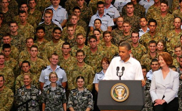 Фоторепортаж о пребывании Барака Обамы в Дарвине. Фото: Scott Barbour /Andrew Taylor /Stuart McEvoy - Pool/Getty Images