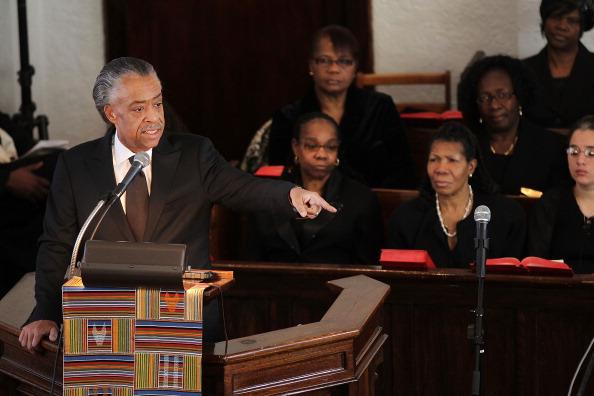 Похороны Уитни Хьюстон в баптистской церкви Новой надежды. Фоторепортаж. Фото: Paul Zimmerman/Getty Images
