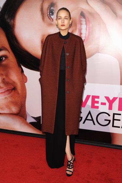 Актриса Лили Собески (Leelee Sobieski) на премьере кинофильма «Пятилетняя помолвка». Фоторепортаж. Фото: Michael Loccisano/Getty Images