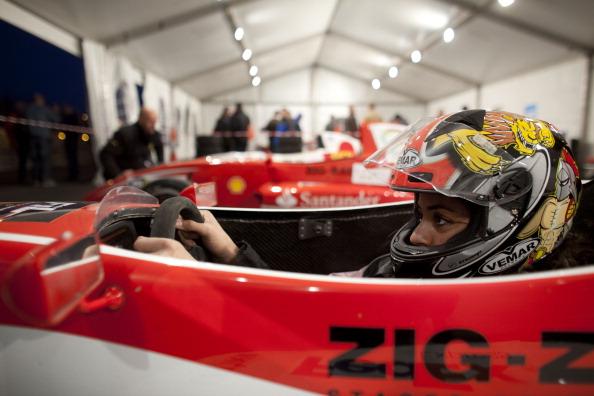 «Формула-1». Фоторепортаж о палестинской автогонщице Нур Дауд. Фото:  Uriel Sinai/Getty Images
