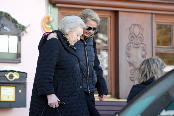 Королева Нидерландов Беатрикс, и жена принца Йохана Фризо Мейбл. Фоторепортаж. Фото: Daniel Liebl/Getty Images