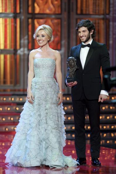 Знаменитости на церемонии Goya Cinema Awards 2012 в Мадриде. (Quim Gutierrez и Cayetana Guillen Cuervo). Фоторепортаж. Фото: Pablo Blazquez Dominguez/Getty Images