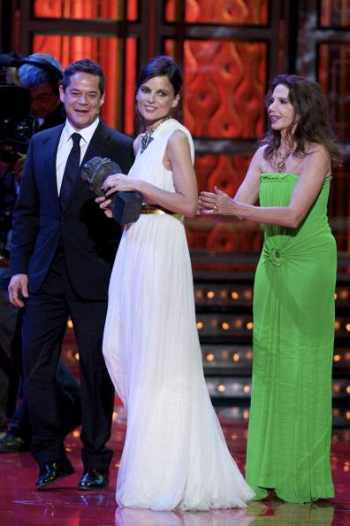 Знаменитости на церемонии Goya Cinema Awards 2012 в Мадриде. (Elena Anaya). Фоторепортаж. Фото: Pablo Blazquez Dominguez/Getty Images