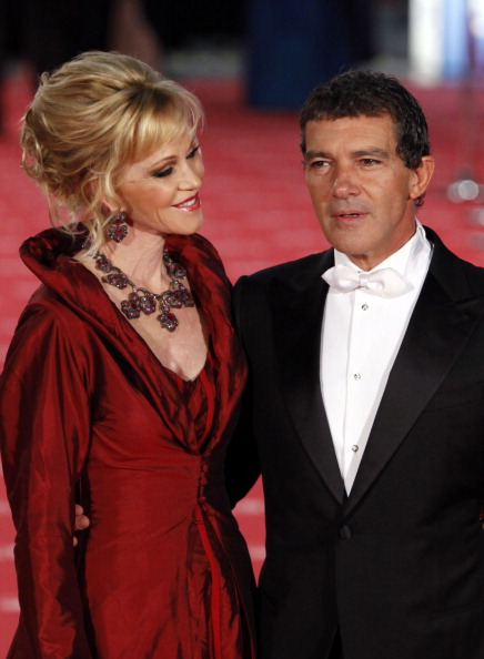 Знаменитости на церемонии Goya Cinema Awards 2012 в Мадриде. Мелани Гриффит (Melanie Griffith), Антонио Бандерас (Antonio Banderas). Фоторепортаж. Фото: Pablo Blazquez Dominguez/Getty Images
