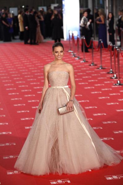 Знаменитости на церемонии Goya Cinema Awards 2012 в Мадриде. Мишель Дженнер (Michelle Jenner). Фоторепортаж. Фото: Pablo Blazquez Dominguez/Getty Images