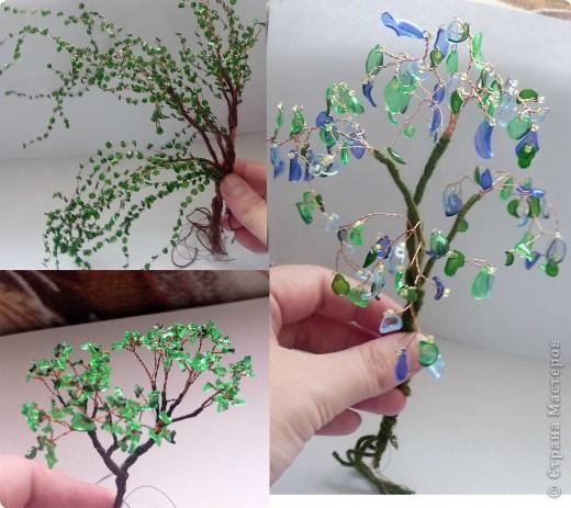Поделки деревья фото
