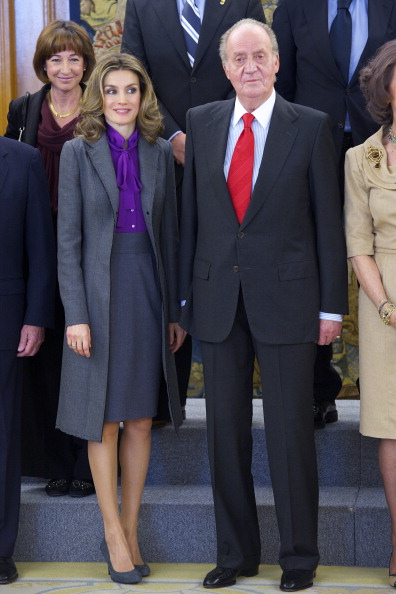 Королевская семья Испании во дворце Ла Сарсуэла. Фото: Carlos Alvarez/Getty Images