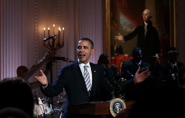 Обама спел Sweet Home Chicago с легендарными музыкантами на блюз-концерте в Белом доме. Фоторепортаж и видео. Фото: Win McNamee/Getty Images