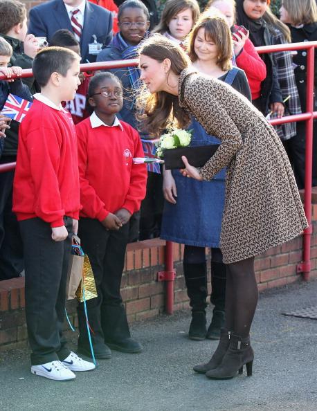 Герцогиня Кембриджская посетила школы в Оксфорде. Фоторепортаж. Фото: Ian Vogler - WPA Pool/Getty Images