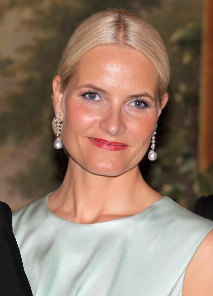 Наследная принцесса Норвегии Метте-Марит  на банкете в Норвежском королевском дворце. Фоторепортаж. Фото: Chris Jackson/Getty Images