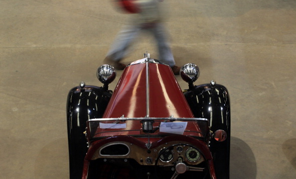 Автошоу на Royal Bath & West Showground в Англии. Фоторепортаж. Фото: Matt Cardy/Getty Images