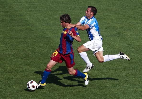 «Барселона» выиграла матч у «Малаги» со счетом 3:1. Фоторепортаж с матча. Фото: Manuel Queimadelos Alonso/Getty Images