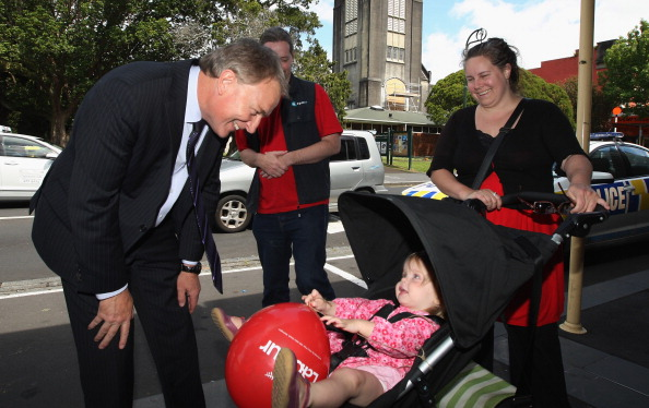 Фоторепортаж о предвыборной кампании лейбориста Фила Гоффа в Новой Зеландии. Фото: Sandra Mu/Getty Images