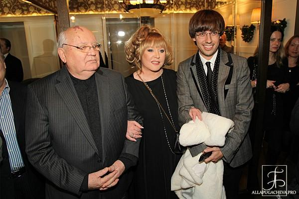 Алла Пугачева и Максим Галкин на  премьере фильма «Михаил Горбачев. От первого лица». Фото с сайта  allapugacheva.pro