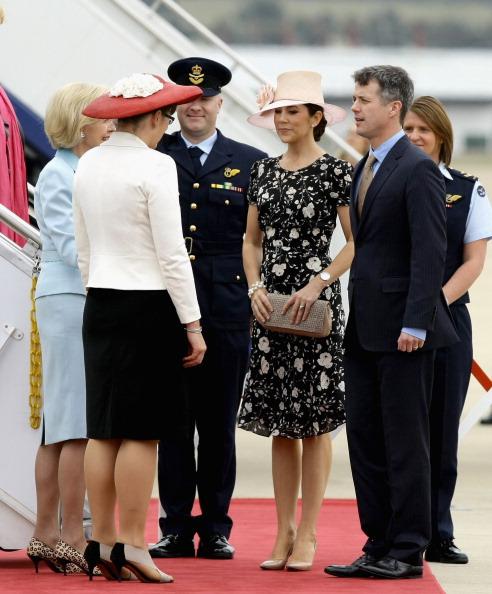Фоторепортаж о принце и принцессе Дании в Канберре. Фото: Kym Smith-Pool /Royal Australian Navy via Getty Images