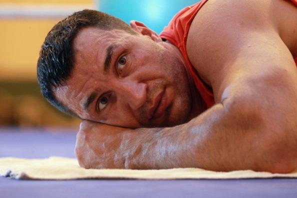 Владимир Кличко провел свою публичную  тренировку.  Фоторепортаж из  Австрии. Фото: Johannes Simon/Bongarts/Getty Images
