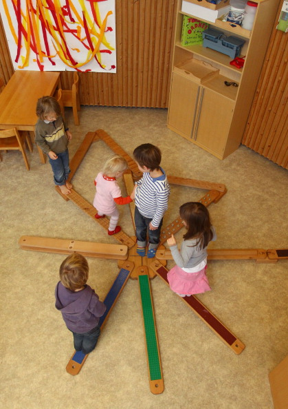 Детский центр по уходу за детьми в Мюнхене. Фоторепортаж. Фото: Alexandra Beier/Getty Images