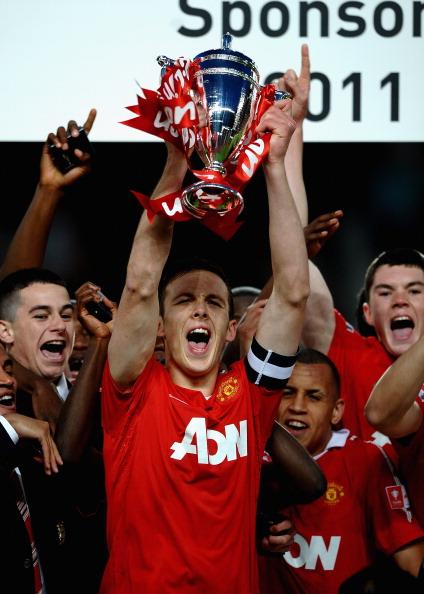 Фоторепортаж с матча молодежных команд «Манчестер Юнайтед»  «Шеффилд Юнайтед». Фото: Laurence Griffiths/Getty Images