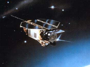 Германский космический телескоп ROSAT мог упасть на побережье Индийского океана. Фото с сайта DLR