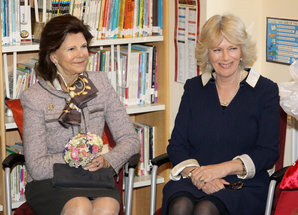 Камилла, герцогиня Корнуольская, в Швеции посетила Британскую начальную школу. Фоторепортаж. Фото: Chris Jackson / Getty Images