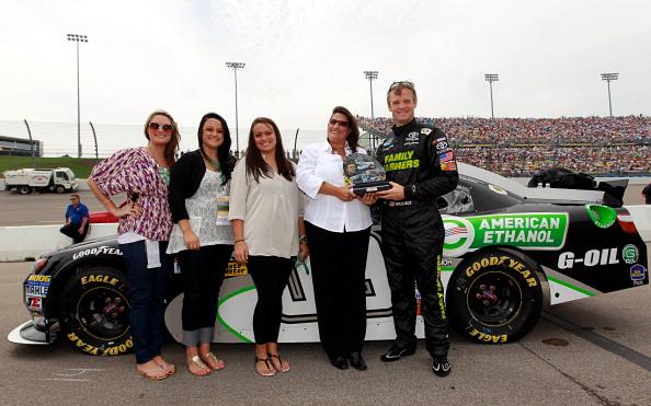 Фоторепортаж с   очередного этапа автогонок  NASCAR. Фото: Tom Pennington/Getty Images for NASCAR
