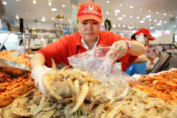 Сиднейский  магазин  морепродуктов в Рождество. Фоторепортаж. Фото: Brendon Thorne/Getty Images