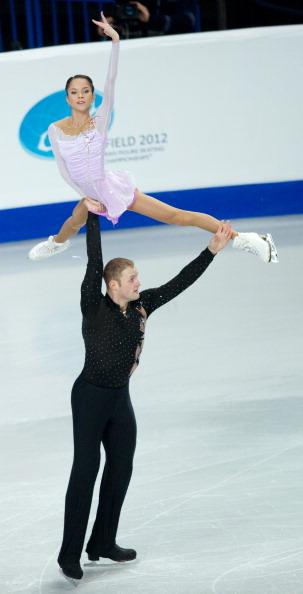 Российские пары на ЧЕ-2012 по фигурному катанию показывают лучшие результаты. Фоторепортаж. Фото: Dean Mouhtaropoulos/Getty Images