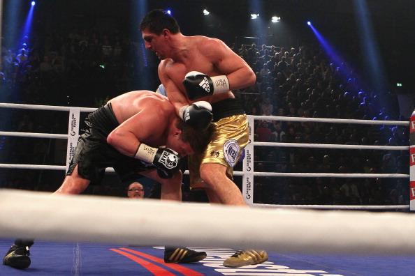 Александр Поветкин победил Марко Хука. Фоторепортаж и видео из Штутгарта. Фото: Christof Koepsel/Bongarts/Getty Images