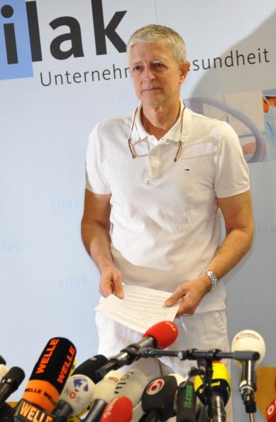 У принца Нидерландов Йохана Фризо шансов выйти из комы нет – заявляет  доктор Вольфганг Коллер. Фоторепортаж из университетской больницы в Инсбруке, Австралия. Фото: Daniel Liebl/Getty Images