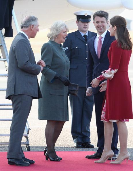Камилла, герцогиня Корнуольская,  и  принц Чарльз прибыли в Данию. Фоторепортаж. Фото: Chris Jackson/Getty Images