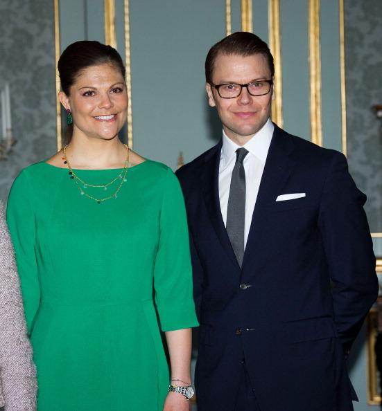 Камилла и принц Чарльз встретились с королевской семьей Швеции. Ннаследная принцесса Швеции Виктория, её супруг принц Даниил, герцог Вестерготландский. Фоторепортаж. Фото: Chris Jackson/Getty Images