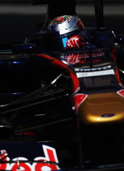 Себастьян Феттель  выиграл первую практику «Формулы-1» Гран-при Монако, Петров – девятый. Фоторепортаж из Монте-Карло. Фото: Paul Gilham/Vladimir Rys/Mark Thompson/ DIMITAR DILKOFF/AFP/Getty Images
