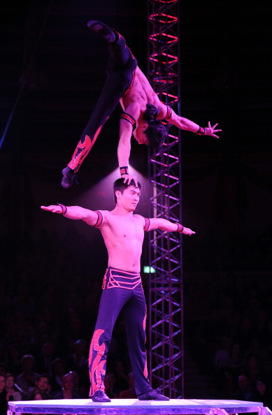 Рождественское цирковое представление Circus Krone в Мюнхене. Фоторепортаж. Фото: Hannes Magerstaedt/Getty Images