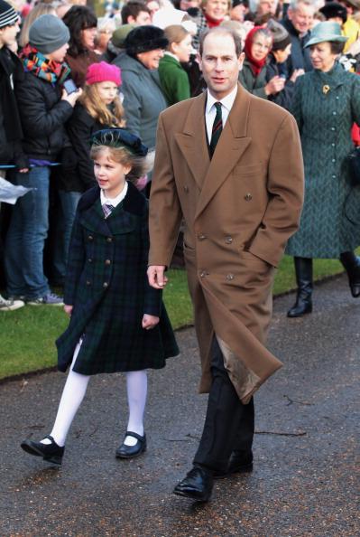 Королевская семья Британии после Рождественской   службы  у церкви Sandringham. Фоторепортаж. Фото: Chris Jackson/Getty Images