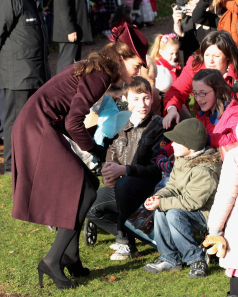 Леди Кэтрин, герцогиня Кембриджская посетила  Рождественскую службу  в церкви Sandringham. Фоторепортаж. Фото: Chris Jackson/Getty Images