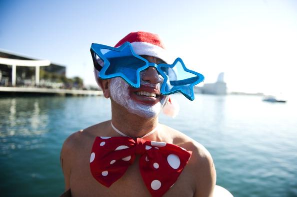 Плавание в Рождество в Барселоне. Фоторепортаж. Фото: David Ramos/Getty Images