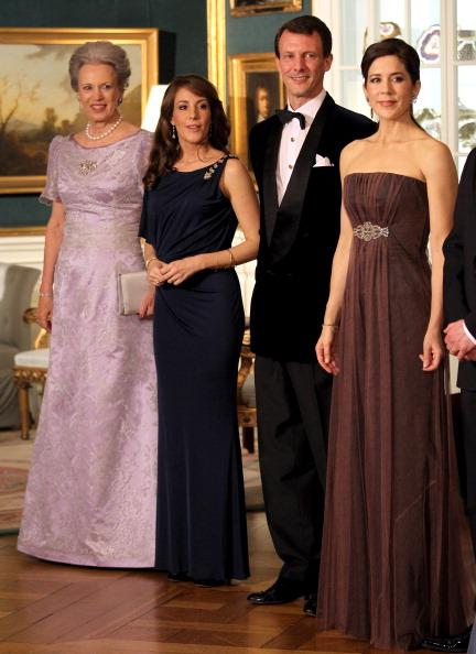 Принцесса Бенедикте Дании, принцесса Мария, Принц Йоаким, кронпринцесса Мэри и принц Фредерик в королевском дворце в Дании. Фоторепортаж. Фото: Chris Jackson - Pool/Getty Images
