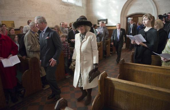 Камилла и принц Чарльз в Дании посетили службу в английской церкви Сент-Олбанс. Фоторепортаж. Фото: Arthur Edwards - Pool /Getty Images