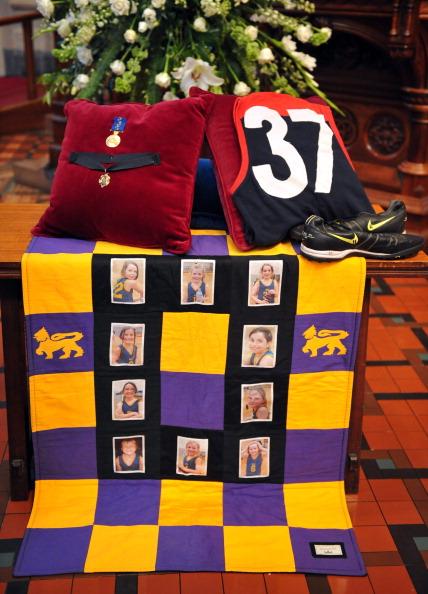Государственные похороны австралийского футболиста Джима Стайнера состоялись в Мельбурне. Фоторепортаж. Фото: Scott Barbour/Getty Images