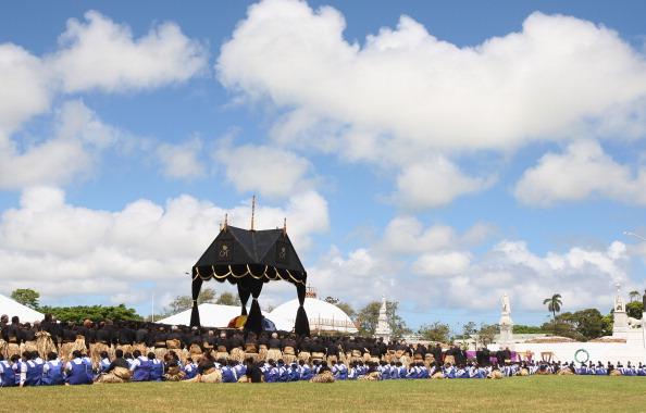 Похороны короля Тонга Георга Тупоу V. Фоторепортаж. Фото: Sandra Mu/Getty Images
