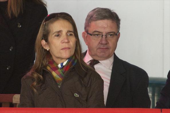 Фоторепортаж об испанской принцессе Елене на презентации Паралимпийской команды. Фото: Carlos Alvarez/Getty Images