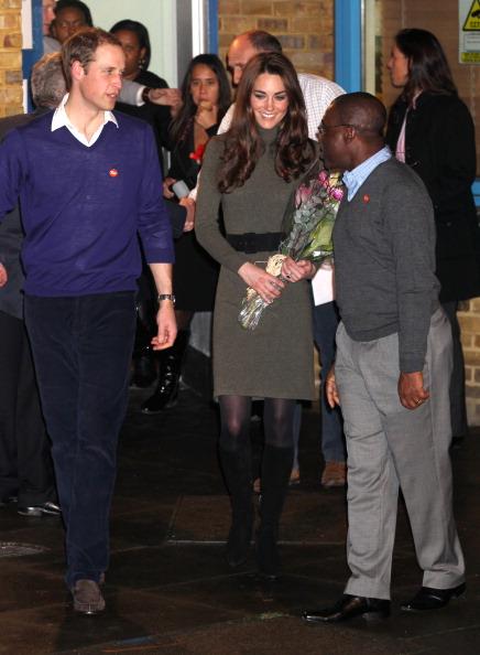 Принц Уильям и леди  Кэтрин в Centrepoint  национальной благотворительной организации в Лондоне.  Фоторепортаж.  Фото: Arthur Edwards - WPA Pool/Getty Images