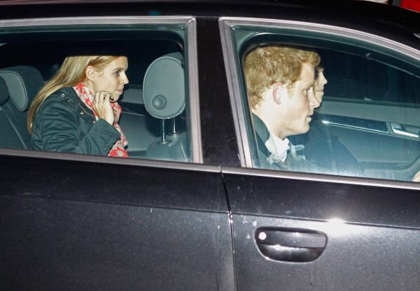 Члены королевской семьи Зара Филиппс, принц Гарри, принцесса Евгения и принцесса Беатрис навестили принц а Филиппа, герцога  Эдинбургского в Больнице Papworth. Фоторепортаж. Фото: Christopher Furlong / Getty Images
