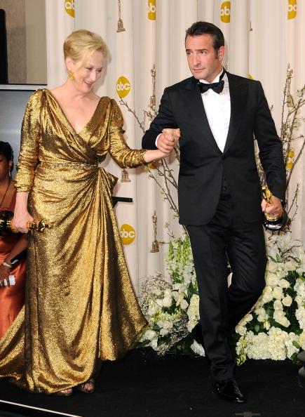 Фоторепортаж о Мерил Стрип, получившей своего третьего  «Оскара» за «Железную леди». Фото: Kevork Djansezian/Getty Images