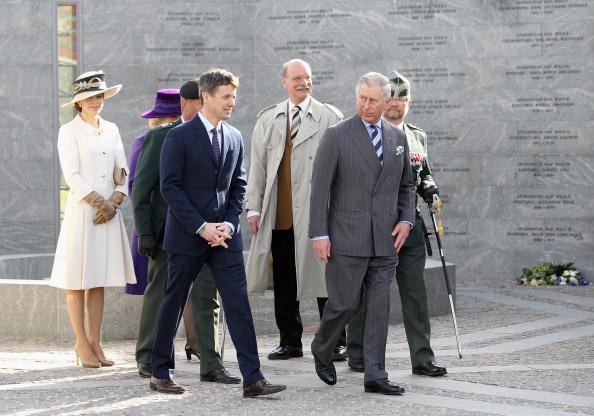 Камилла и принц Чарльз в Копенгагене посетили национальный мемориал. Фоторепортаж. Фото: Chris Jackson - Pool/Getty Images
