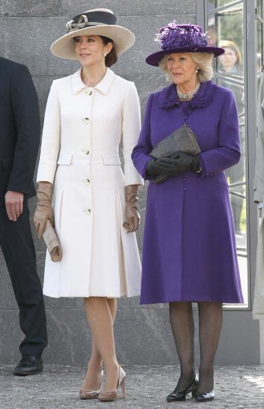 Камилла и Кронпринцесса Дании Мэри в Копенгагене посетили национальный мемориал. Фоторепортаж. Фото: Chris Jackson - Pool/Getty Images